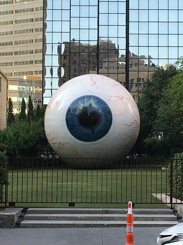 Dallas Eye Sculpture | by DanCentury