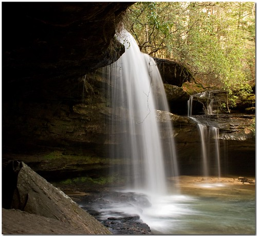 Upper Falls at Caney Creek | by K. W. Sanders