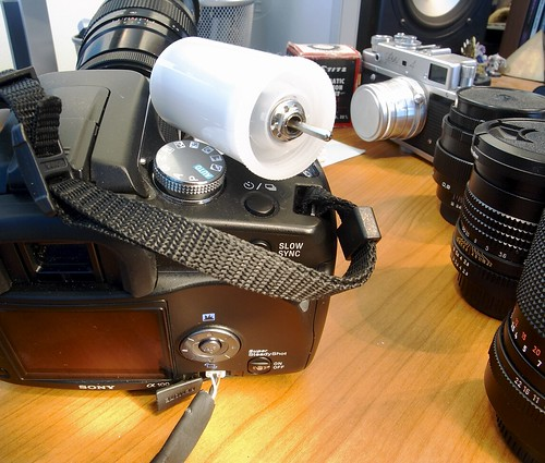 DIY remote cable for Sony DSLR A100 (and others) | by Arkku