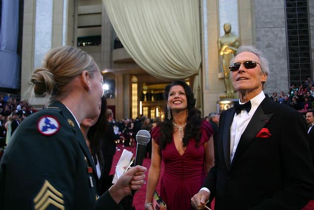 Clint Eastwood Famous Veteran