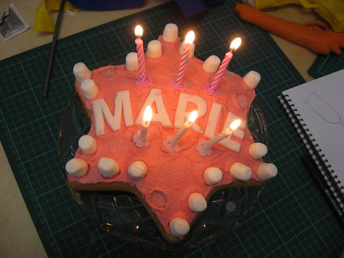 marie's birthday cake! | by Jeni Rodger
