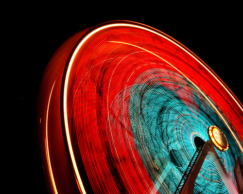 ferris wheel at night | by tylerdurden1