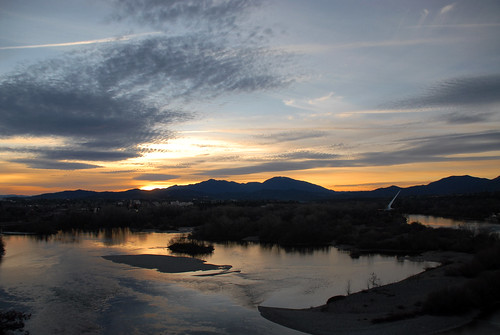 Sacramento River at Sunset | by SubEclipse