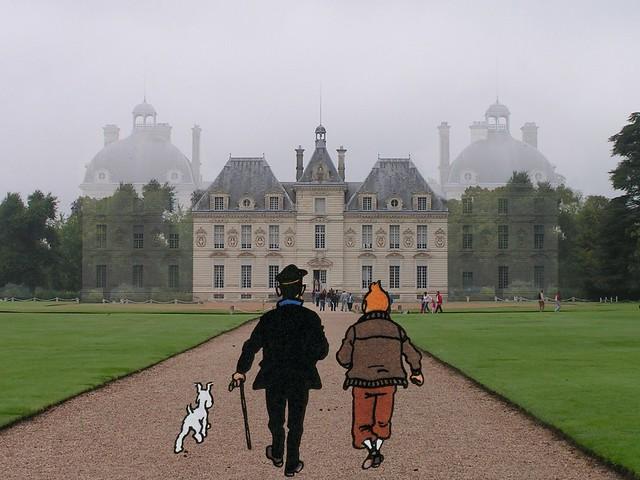 Cheverny 016 Tintin.jpg