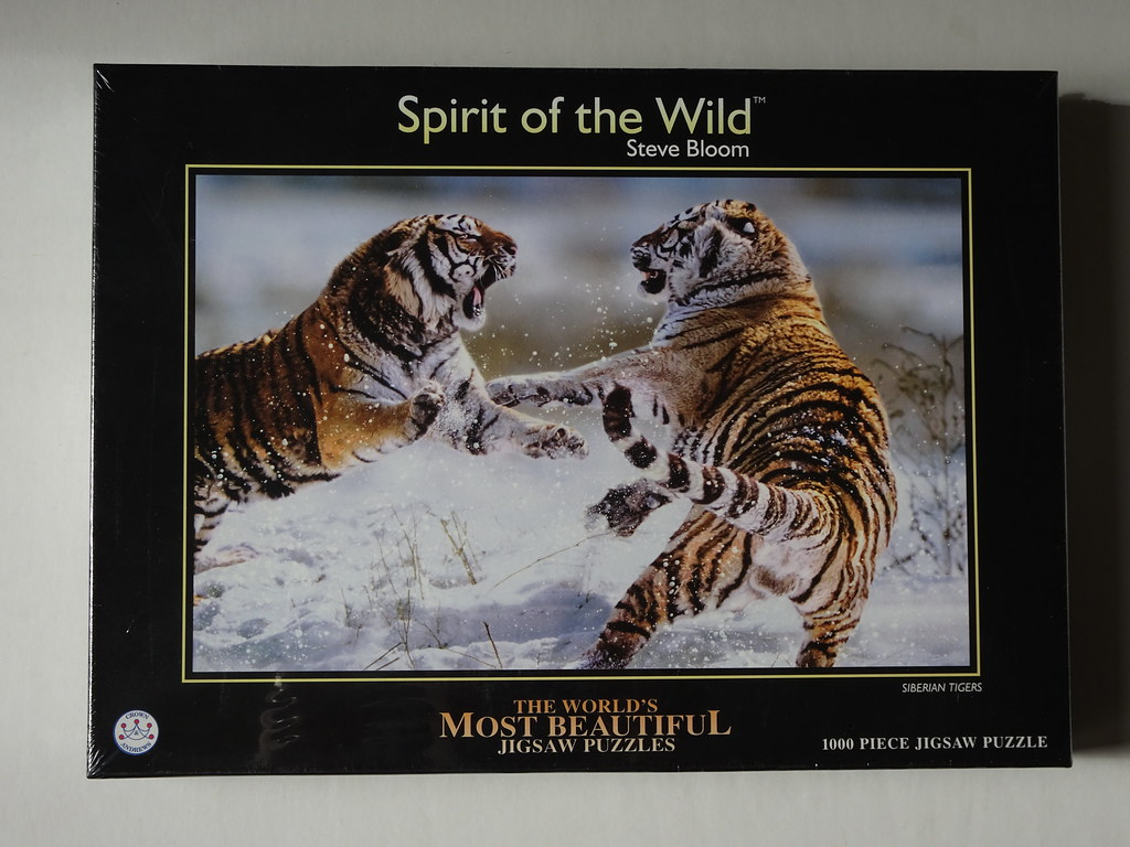 Crown & Andrews 1000pc World's Most Beautiful - Siberian T… | Flickr