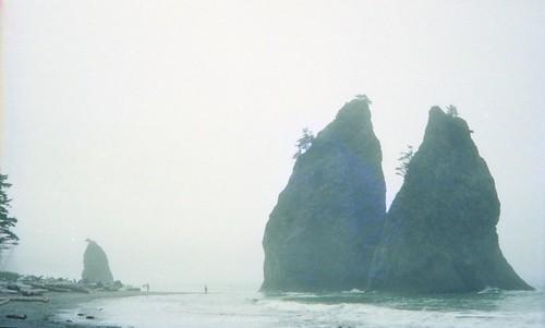 Rialto Beach Sea Stacks