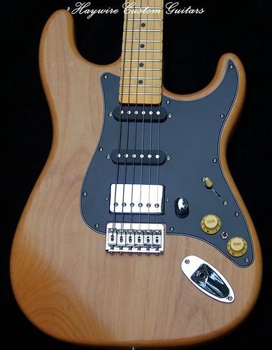 Haywire Custom Guitars Joe G Hardtail Strat Maple Neck4 | by HaywireCustomGuitars