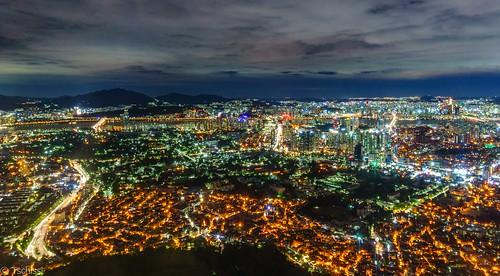 seoul southkorea nacht longexposure südkorea kr