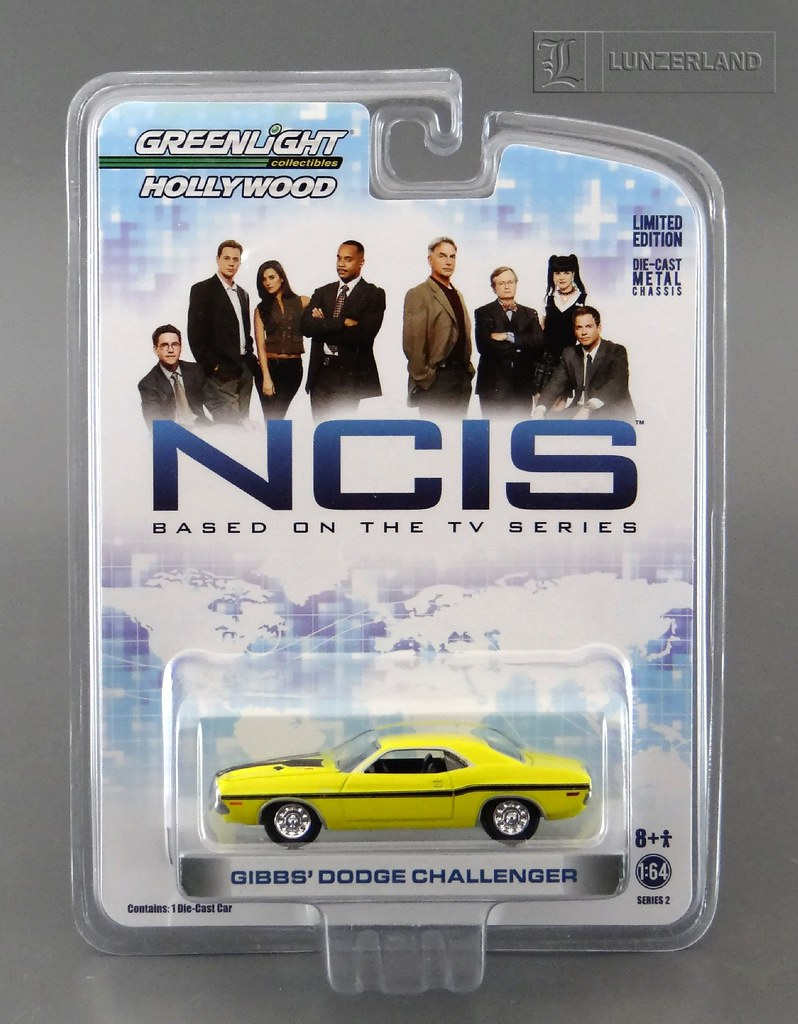 NCIS ~ GIBBS' DODGE CHALLENGER 1:64 scale die cast Mint On