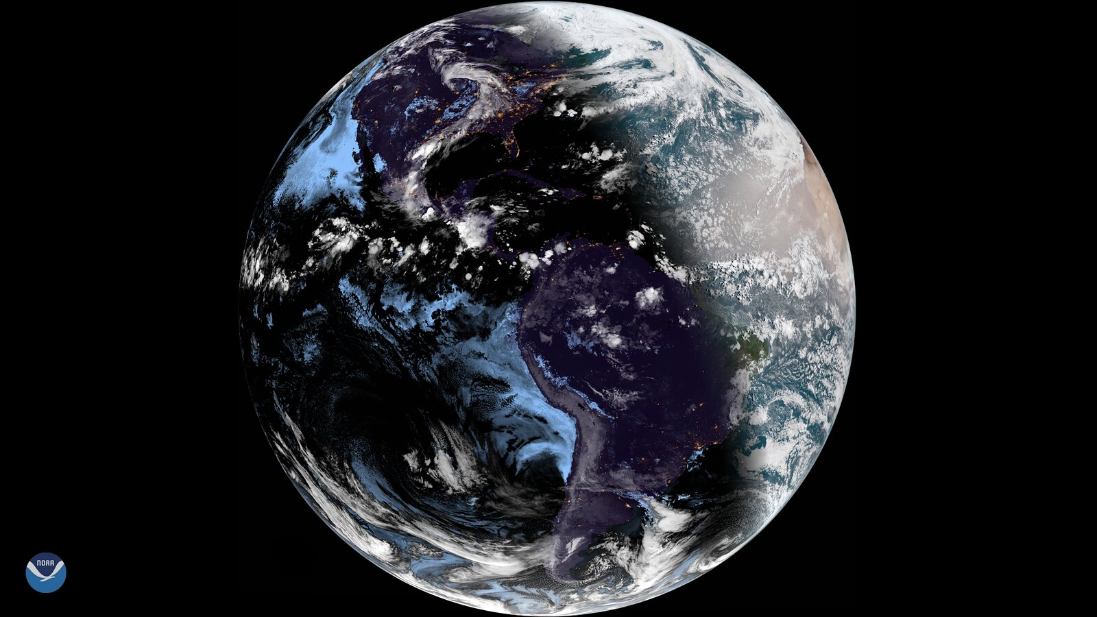 The Summer Solstice Seen from GOES East