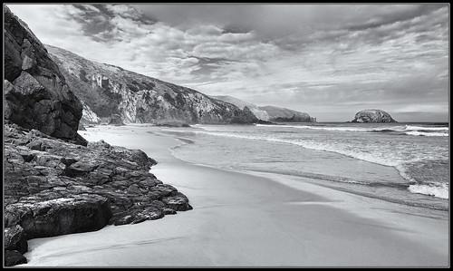 newzealand newzealandsouthisland nz holiday travel allansbeach bw blackandwhite monochrome beach landscape capesaunders