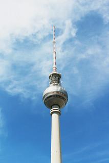 Fernsehturm Berlin vintage version | by blondgarden