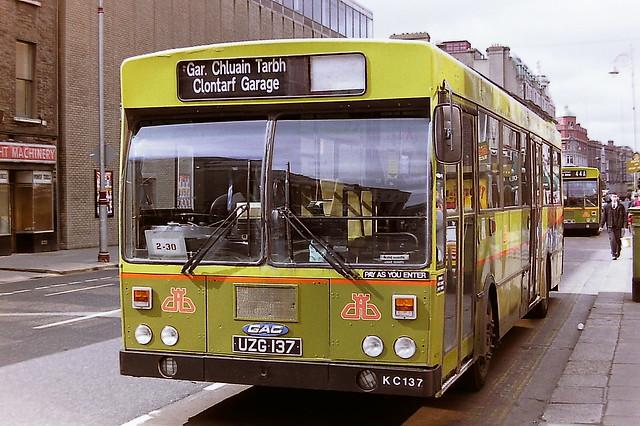 DUBLIN BUS/BUS ATHA CLIATH KC137 UZG137