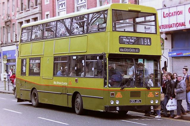 DUBLIN BUS/BUS ATHA CLIATH KD133 133JZL