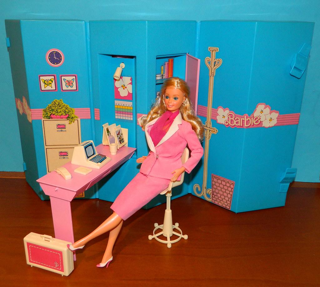 Barbie Home Office 1984 Pose 1 Nexira Flickr