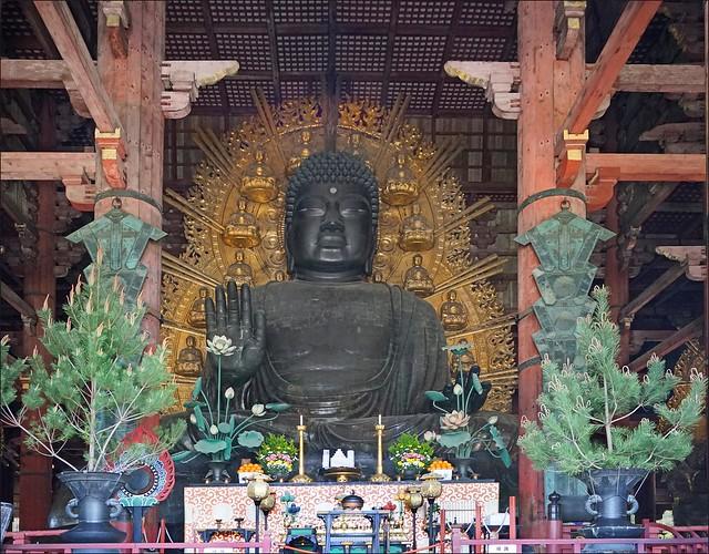 Daibutsu, le grand Bouddha (Todai-ji, Nara)