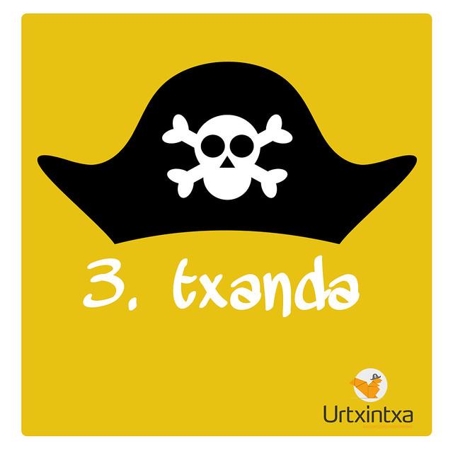 Udaleku Piratak 2019 - 3.txanda