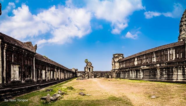 Southern Library of Angkor Wat Cambodia -29a