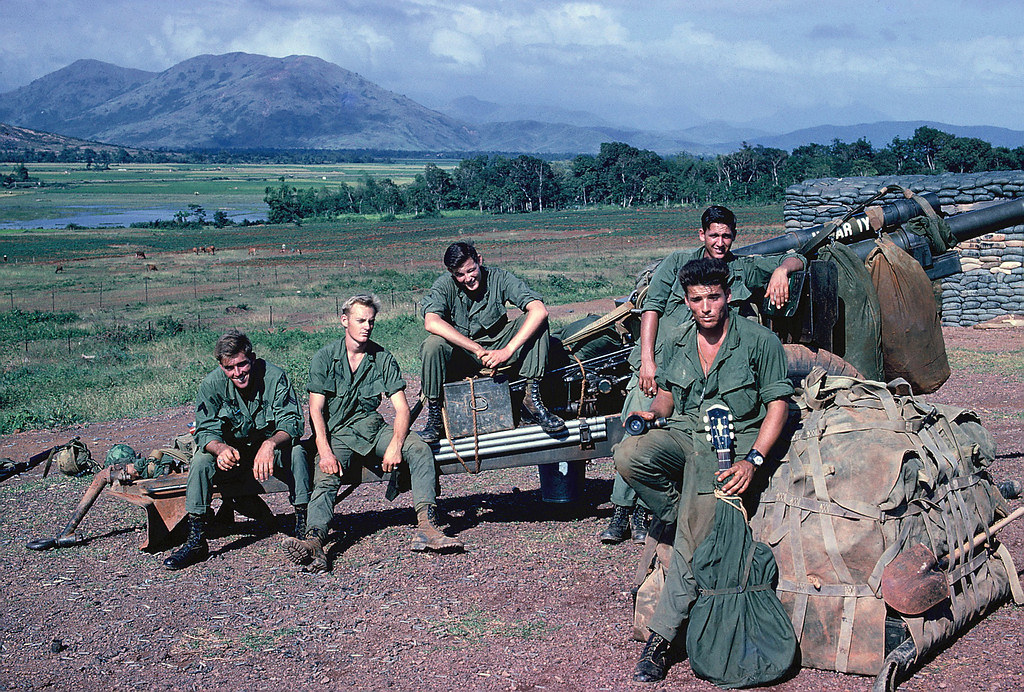 1967/68 – Members of A battery, 6th Battalion, 11th Light