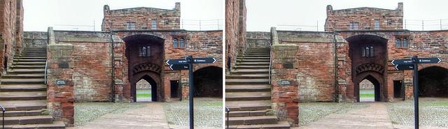 Carlisle Castle in 3D