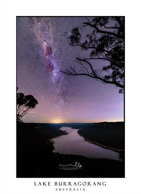 Milky Way Over Burragorang Lake