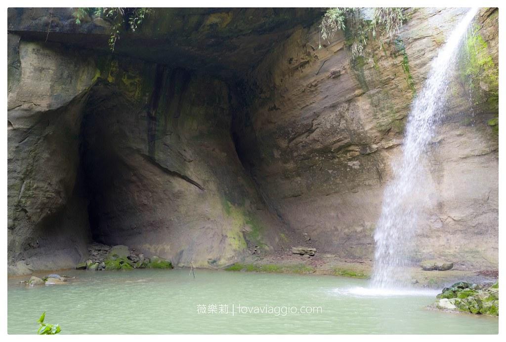 【台南 Tainan】楠西鄉蝙蝠洞瀑布 曲徑幽深的城市沁涼小秘境 @薇樂莉 Love Viaggio | 旅行.生活.攝影