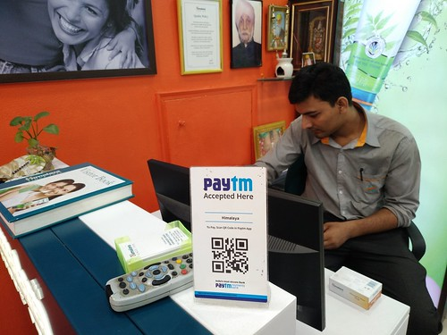 PayTm accepted here (Delhi, India)