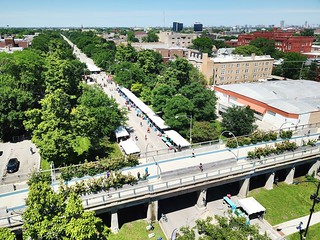 606 Block Party - third anniversary of the Bloomingdale Trail and constituent parks