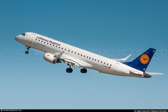 [LCY.2013] #Lufthansa.Regional #CL #Embraer #ERJ190 #D-AECE #Kronach #awp