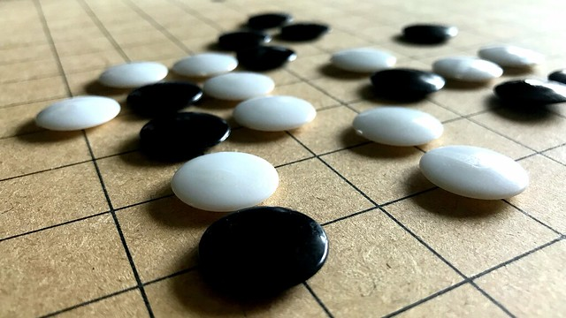 Rainy Days and...a Game of Go