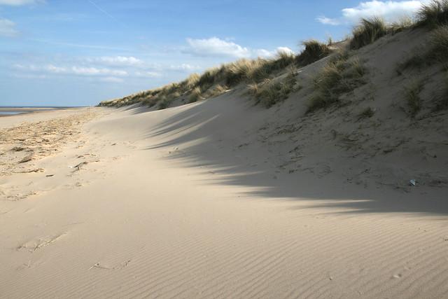 The Norfolk Coast path near Holkham