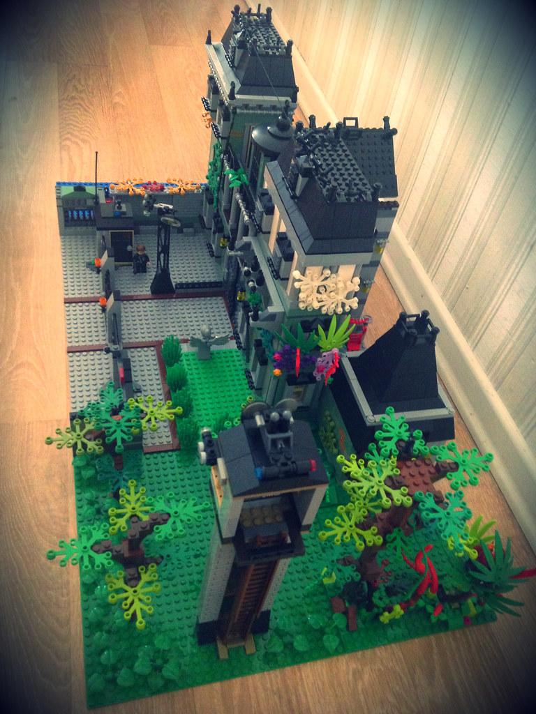 Custom Lego build Arkham Asylum   Custom Lego Arkham Asylum   Flickr