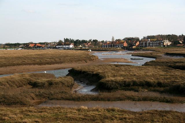 Burnham Overy Staithe from Plantago Marsh