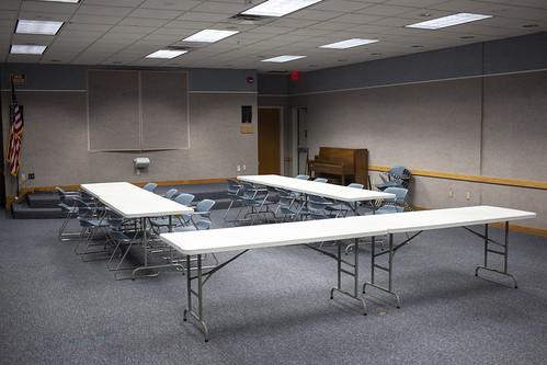 Downstairs meeting room