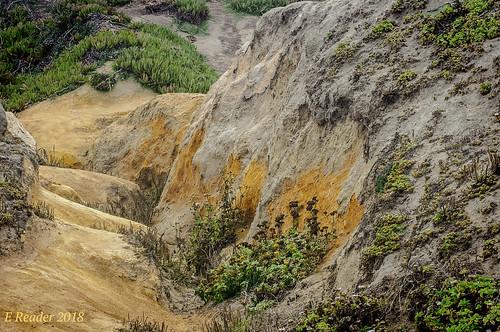 color coast nature sandstone davenportbluffs davenport reflection rock bluff