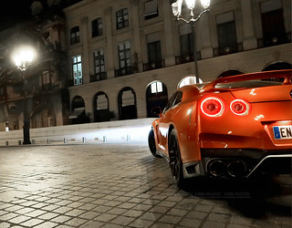 Nissan GTR orange Gentleman Edition Paris | by dsgforever