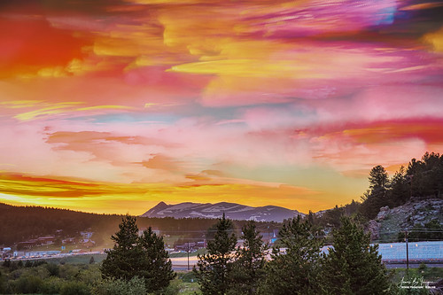 scenic nature landscape timedstack hdr images stacked sunset view smallminingtown rollinsville colorado jamesboinsogna travel scenery artwork colorfulart