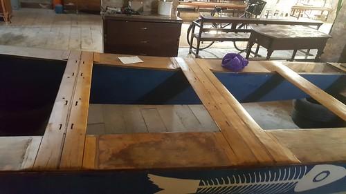 Patí amb la restauració finalitzada