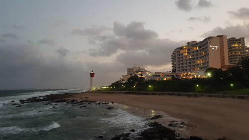 umhlang durban southafrica umhlanga south africa lighthouse umhlangalighthouse lighthouses sea water wave waves ocean coast coastal coastline rock rocks beach cloud clouds cloudy sun sunset sunsets