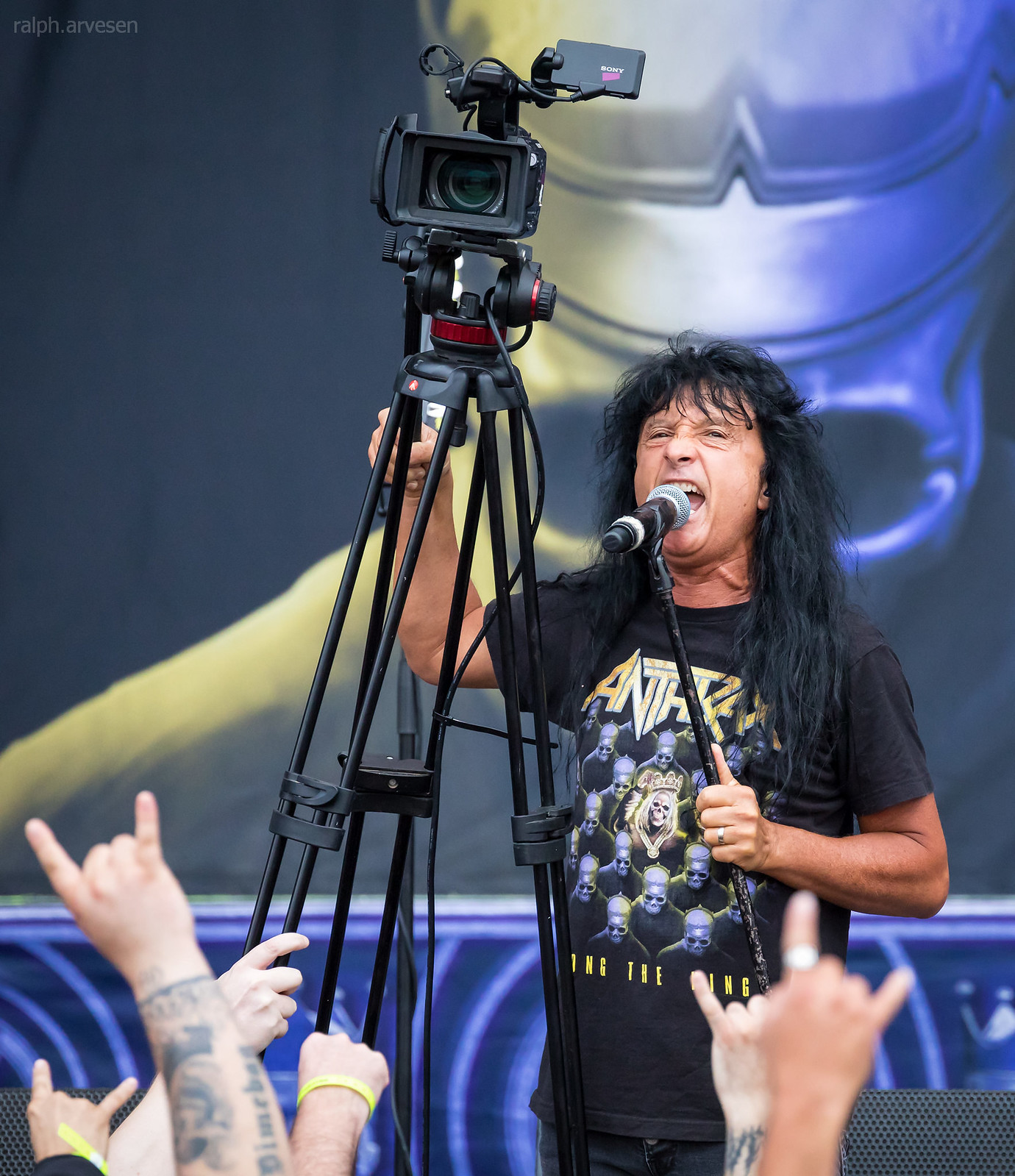 Anthrax | Texas Review | Ralph Arvesen