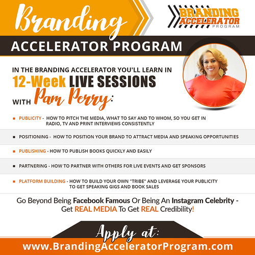 Branding Accelerator Program 01 update | by pamperry1