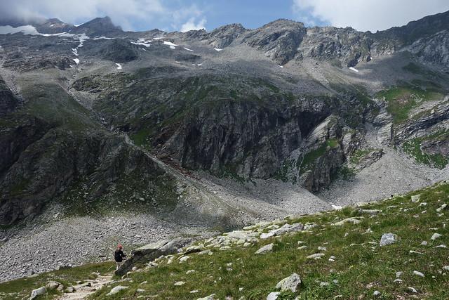 Wanderung zur Olperer Hütte, Zillertal, Österreich