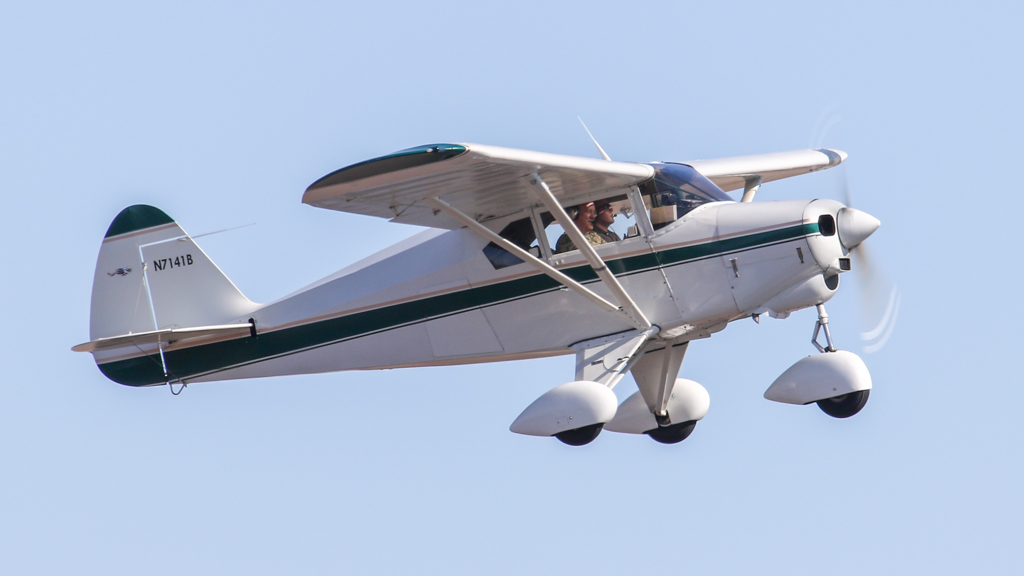Piper PA-22-150 Tri-Pacer N7141B | Climbing out  | Chris Kennedy