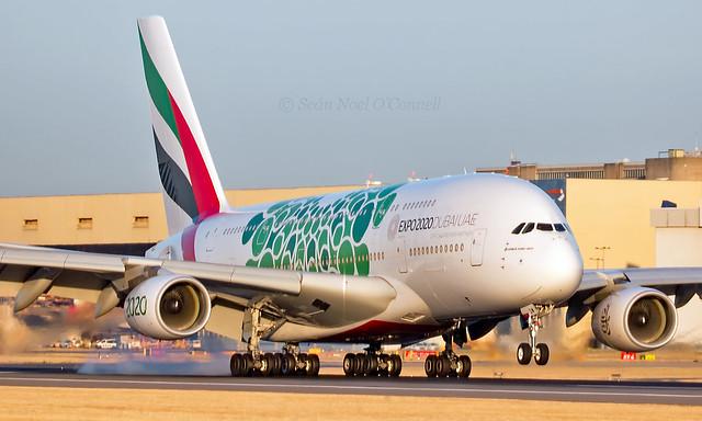 A6-EOW - Airbus A380-861 - LHR