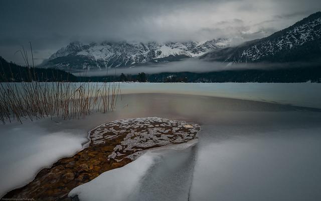 Ice cold lake