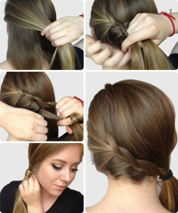 Terrific Hairstyles For Long Hair 7 Braided Side Ponytail Easy Flickr Natural Hairstyles Runnerswayorg