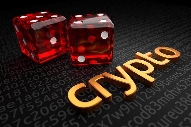 Cryptocurrency dice roll