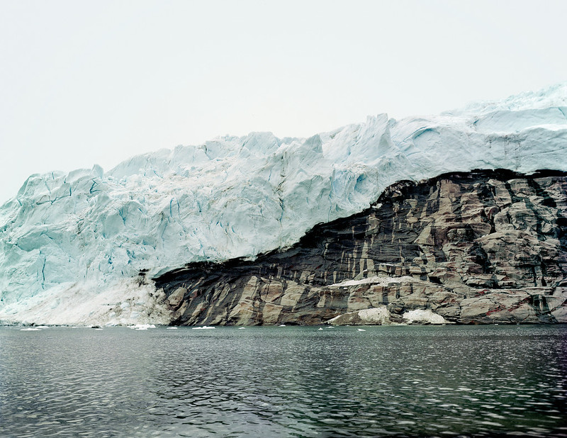 """Olaf Otto Becker: Lille Renland, Melville Bay, 7/2006, 74°57'43""""N, 2006."""