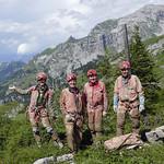 15.7.2018 - Entnahme Sinterproben mit Universität Innsbruck in der Bettenhöhle, Melchsee-Frutt OW