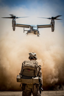 Sandy Skies | by United States Marine Corps Official Page